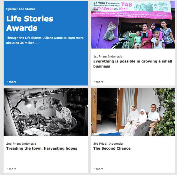 Allianz Life Stories Award
