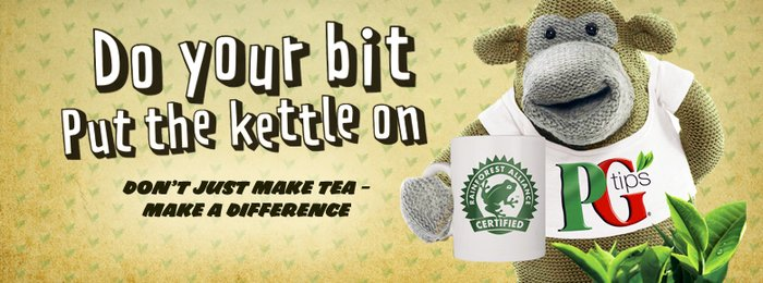 PG Tips Rainforest Alliance