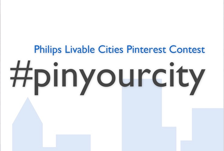Philips Pin Your City Pinterest